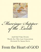 Cover for 'Marriage Supper Of The Lamb'
