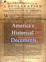Cover for 'America's Historical Documents'