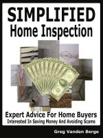 Cover for 'Simplified Home Inspection'