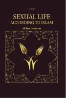 Cover for 'Sexual Life According To Islam'