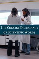 Cover for 'The Concise Scientific Dictionary'