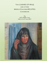 Cover for 'THE CUISINE OF IRAQ AND OTHER MIDDLE EASTERN RECIPES COOKBOOK'