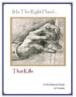 Cover for 'It Is The Right Hand That Kills'