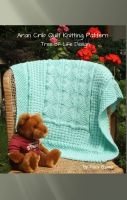 Cover for 'Aran Inspired Tree of Life Crib Quilt Knitting Pattern'