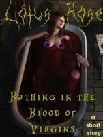 Cover for 'Bathing in the Blood of Virgins'