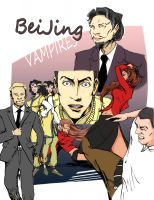 Cover for 'Beijing Vampires'