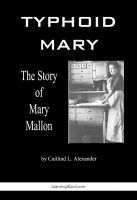 Cover for 'Typhoid Mary: The Story of Mary Mallon'