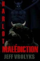 Cover for 'Harlot Malediction'