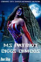 Cover for 'Ms Patriot: Biggs Bimbos (Grimme City Super Heroines in Peril)'