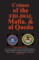 Cover for 'Crimes of the FBI-DOJ, Mafia, and al Qaeda'