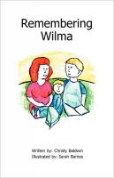 Cover for 'Remembering Wilma'