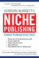 Cover for 'Niche Publishing: Publish Profitably Every Time!'