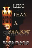 Cover for 'Less than a Shadow'