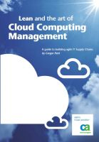 Lean and the art of cloud computing management (2010)
