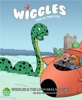Cover for 'Wiggles and the Loch Ness Monster.'