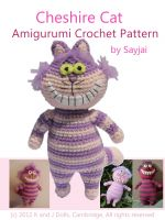 Cover for 'Cheshire Cat Amigurumi Crochet Pattern'