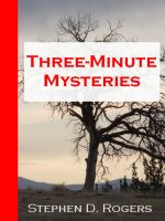 Cover for 'Three-Minute Mysteries'