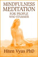 Cover for 'Mindfulness Meditation For People Who Stammer (Stutter)'