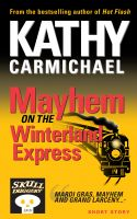 Cover for 'Mayhem on the Winterland Express'