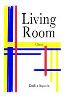 Cover for 'Living Room, a novel'