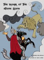 Cover for 'The Roar of the Stone Lions'