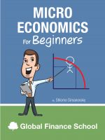 Cover for 'Microeconomics for Beginners'