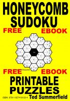 Cover for 'Honeycomb Sudoku Puzzles'