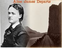 Cover for 'Alice James Departs'