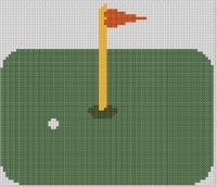 Cover for 'Golf 2 Cross Stitch Pattern'