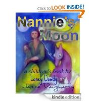 Cover for 'Nannie's Moon: a children's book'