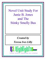 Cover for 'Novel Unit Study For Junie B. Jones and the Stinky Smelly Bus'