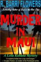 Cover for 'MURDER IN MAUI: A Leila Kahana Mystery'