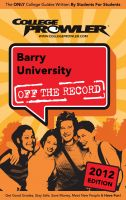 Cover for 'Barry University 2012'