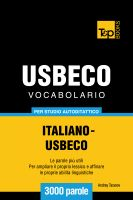 Cover for 'Vocabolario Italiano-Usbeco per studio autodidattico - 3000 parole'