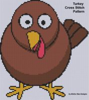 Cover for 'Turkey Cross Stitch Pattern'
