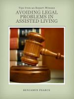 Benjamin Pearce - Avoiding Legal Issues in Assisted Living