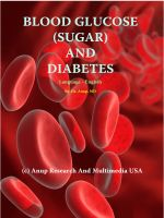Cover for 'Blood Glucose (sugar) and Diabetes'