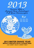 Cover for '2013 The Rat - Suzanne White's Annual Horoscopes for the Rat'