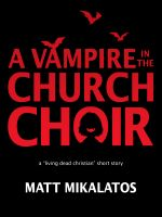 Cover for 'The Vampire in the Church Choir'