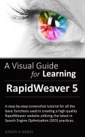 Cover for 'The Visual Guide for Learning RapidWeaver 5'