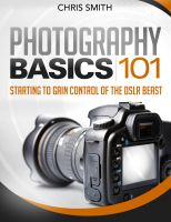 Cover for 'Photography Basics 101'