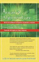 Cover for 'Amar a Alguien Gay'