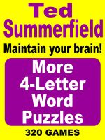 Cover for 'More 4-Letter Word Puzzles. Vol. 2'