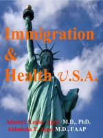 Cover for 'Immigration and Health USA by Adesuyi Leslie Ajayi & Abimbola T. Ajayi'