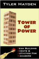 Cover for 'Team Building Events & Activities for Managers - Tower of Power'