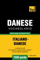 Cover for 'Vocabolario Italiano-Danese per studio autodidattico - 7000 parole'