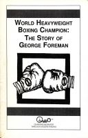 World Heavyweight Boxing Champion: The Story of George Foreman cover