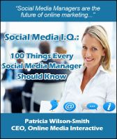 Cover for 'Social Media I.Q.: 100 Things Every Social Media Manager Should Know'