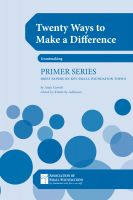Cover for 'Twenty Ways to Make A Difference: Stories From Small Foundations'