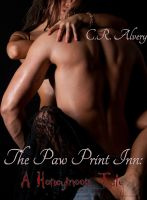 Cover for 'The Paw Print Inn: A Honeymoon Tale (werewolf, straight, tied, arranged marriage)'